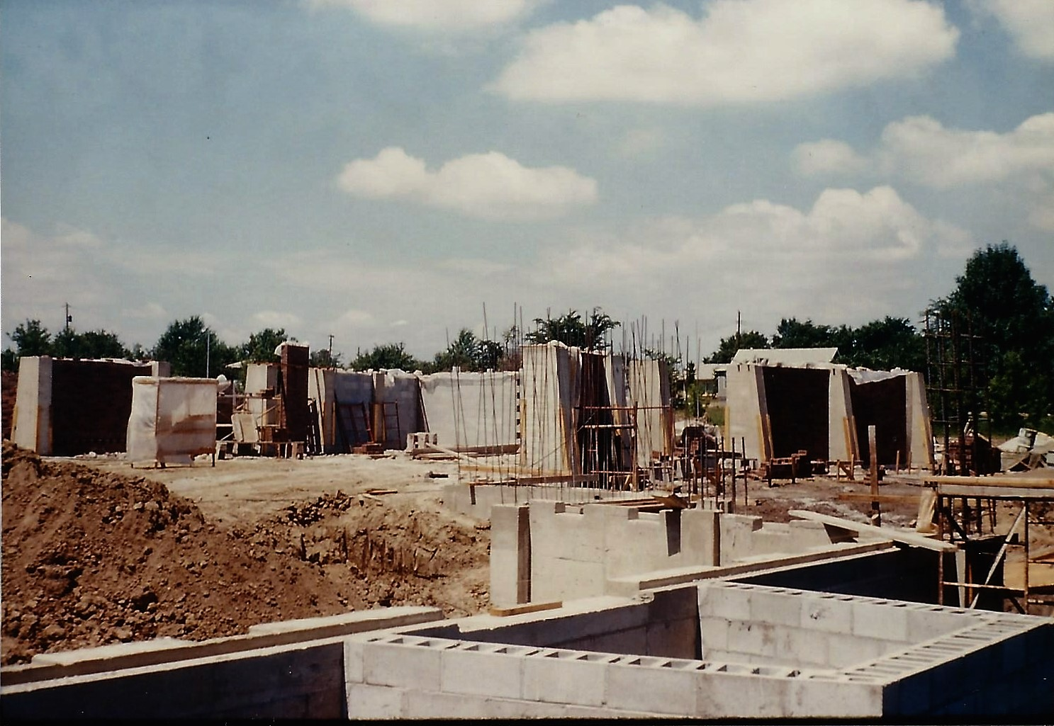 Evacuation and Construction for New Church, ca. 1960s, 017